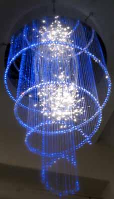 Светильники из оптоволокна своими руками