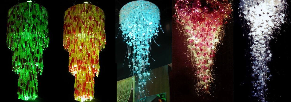 Как сделать оптоволоконные светильники